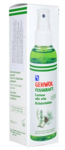 Ziołowy spray do stóp Gehwol Krauterlotion 150ml